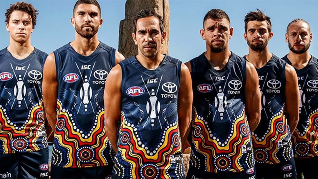 Adelaide Unveil 2017 Indigenous Guernsey
