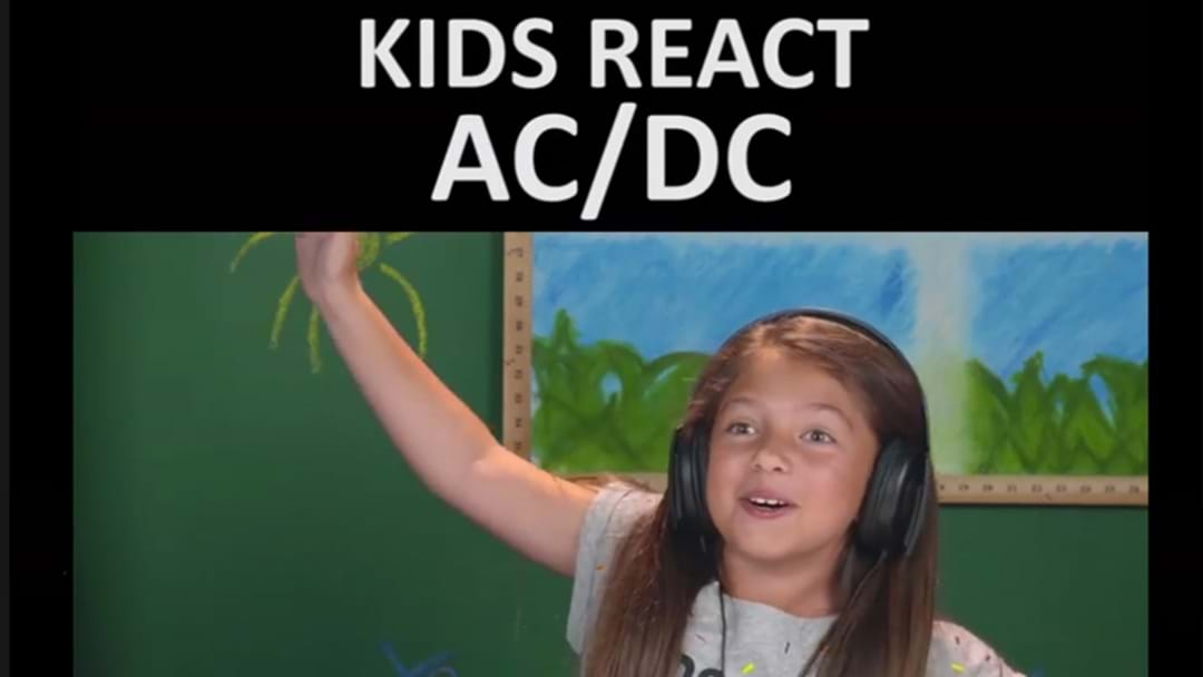 Watch A Whole Bunch Of Kids Exposed To AC/DC For The First Time