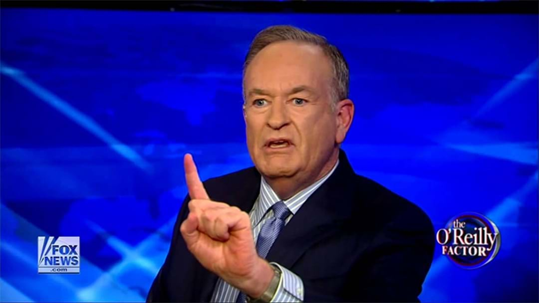 Bill O'Reilly Gets Given The Flick From Fox News