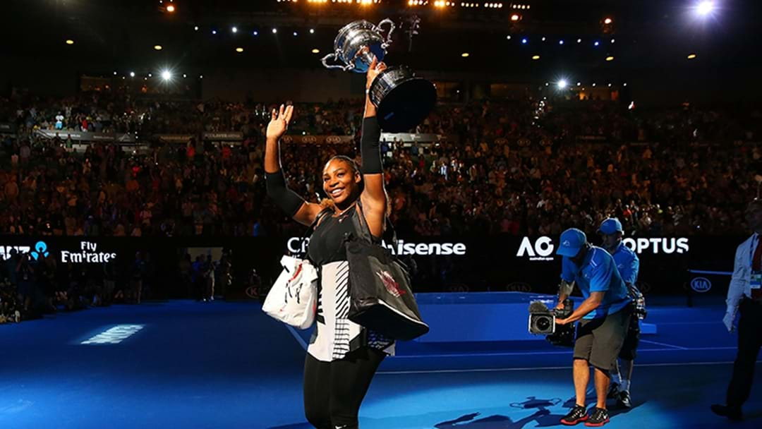 Serena Reveals She Was Pregnant While She Won The Australian Open