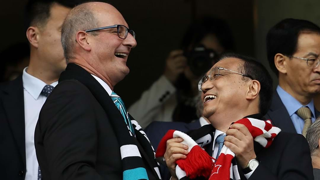 Port Adelaide Claim To Have Sold Out China Game