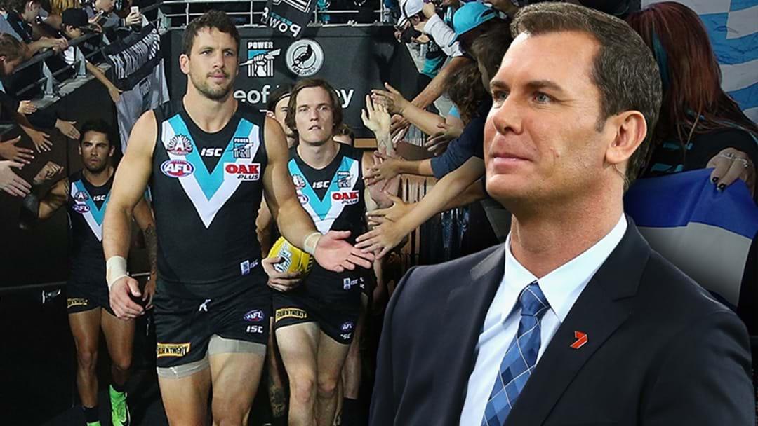 Wayne Carey's Big Call On Port Adelaide