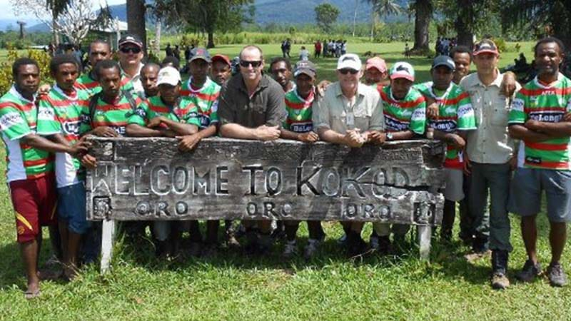 """Article heading image for """"All Rugby League Players Should Climb The Kokoda Track"""""""