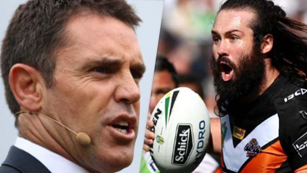 "Brad Fittler Labels Aaron Woods' Behaviour A ""Disgrace"""