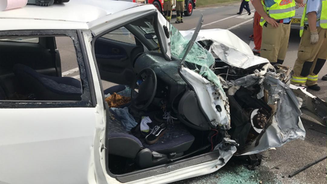 18y/o Girl Critical After Raymond Terrace Crash