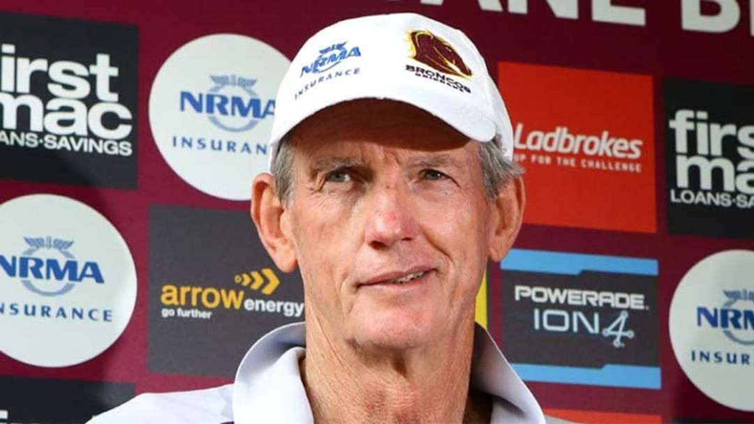 Wayne Bennett Won't Coach NSW