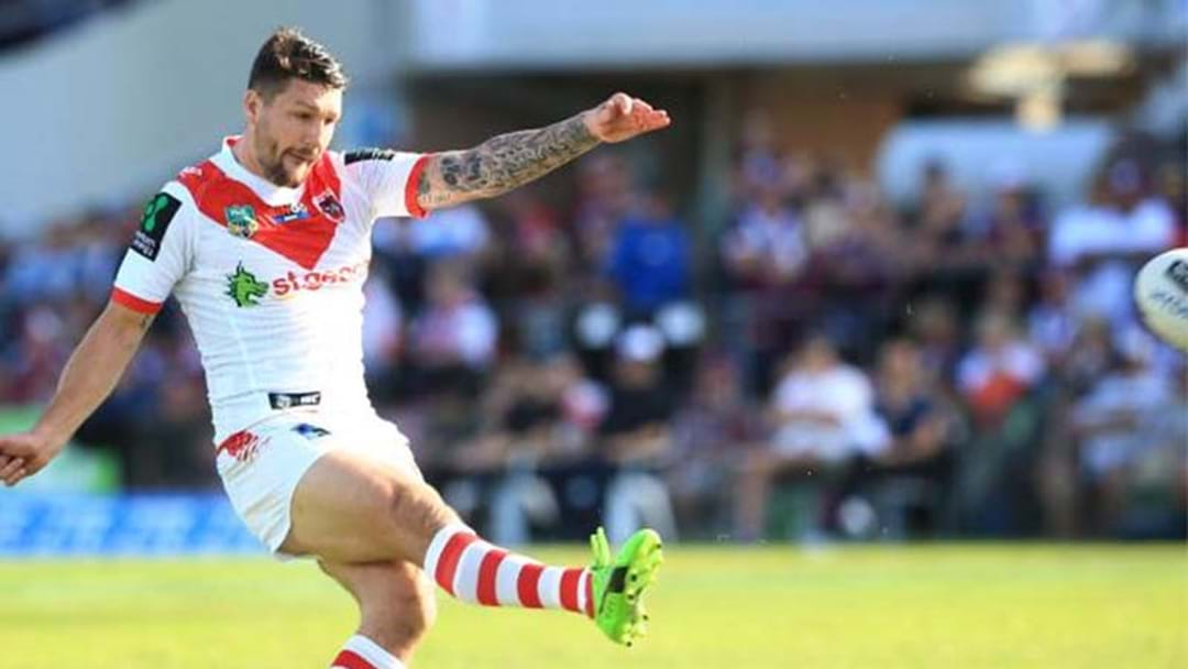 Gareth Widdop Injured In ANZAC Clash