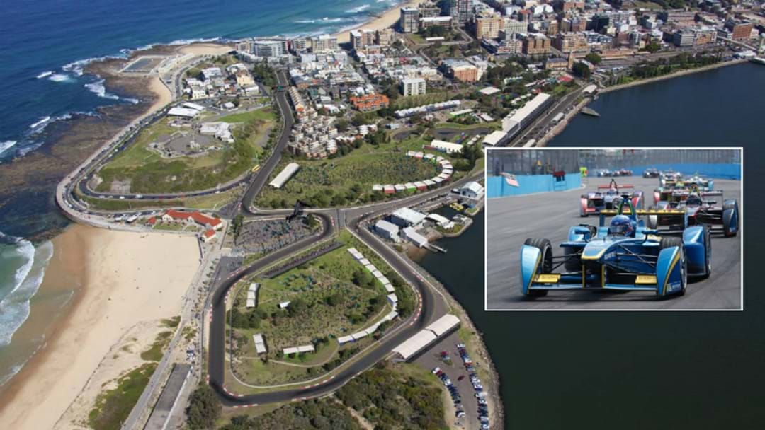 Push For Electric Vehicle Race At Newcastle 500