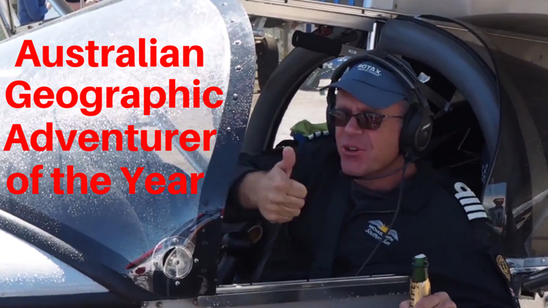 Australian Geographic Adventurer of the Year - Michael Smith