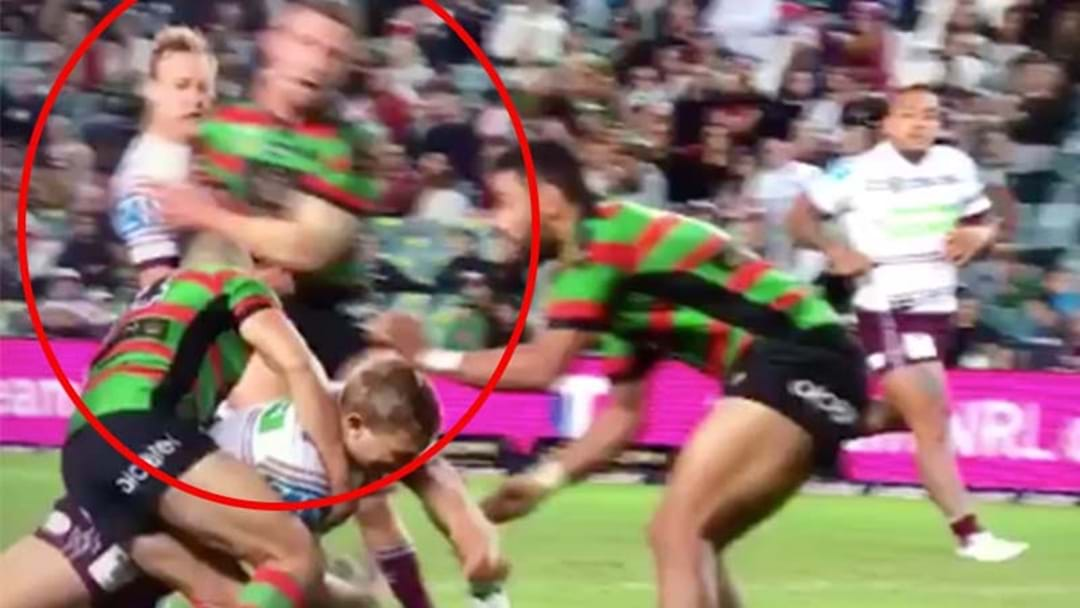 Eagle-Eyed Viewer Spots A Possible Burgess Shoulder Charge