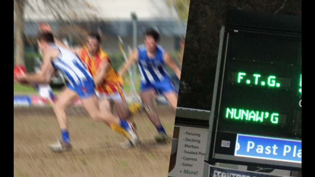 The Nunawading Lions Played The Top Team On Saturday