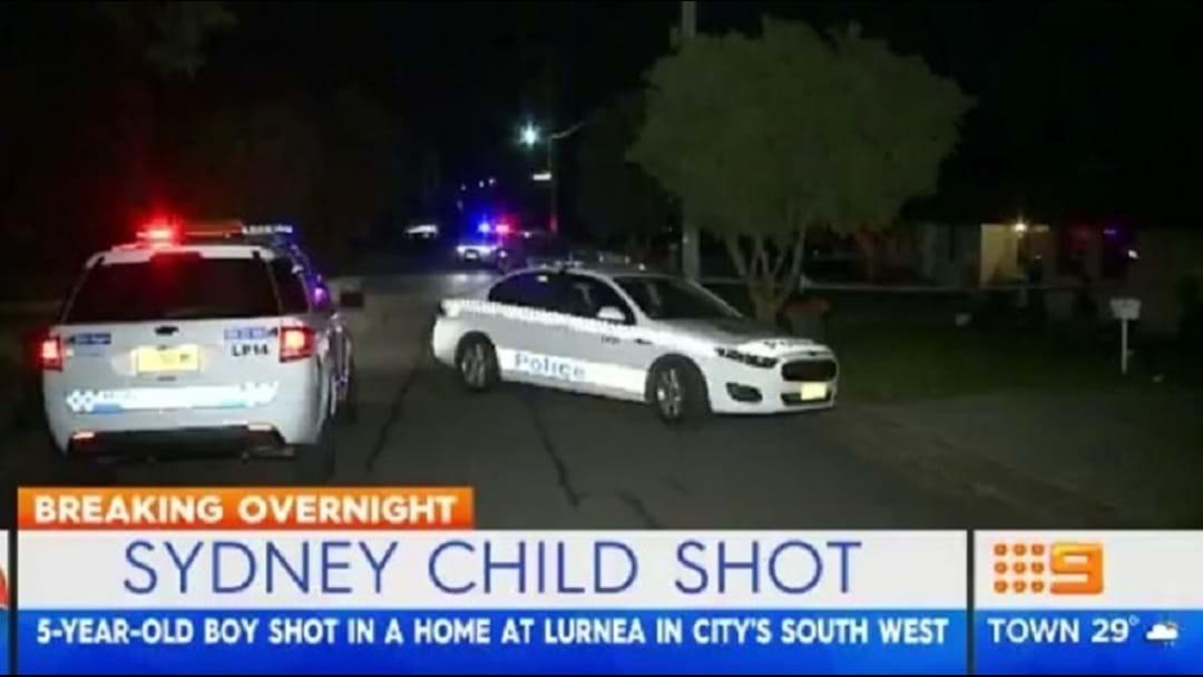 5 Year Old Boy Shot In Sydney's South West