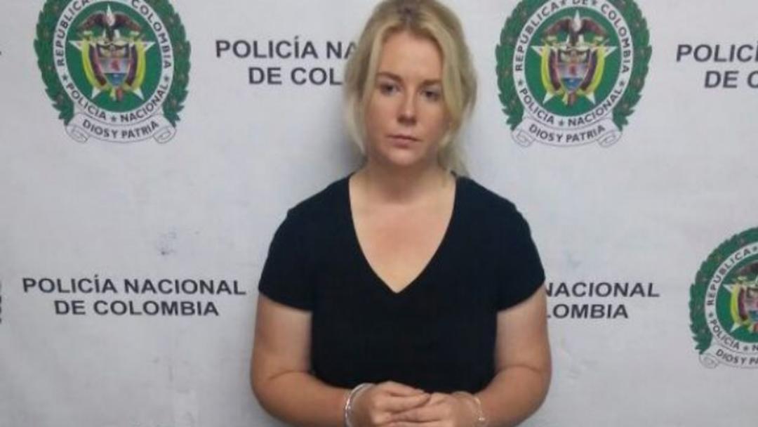 Colombian Police Release Pictures Of Aussie Girl