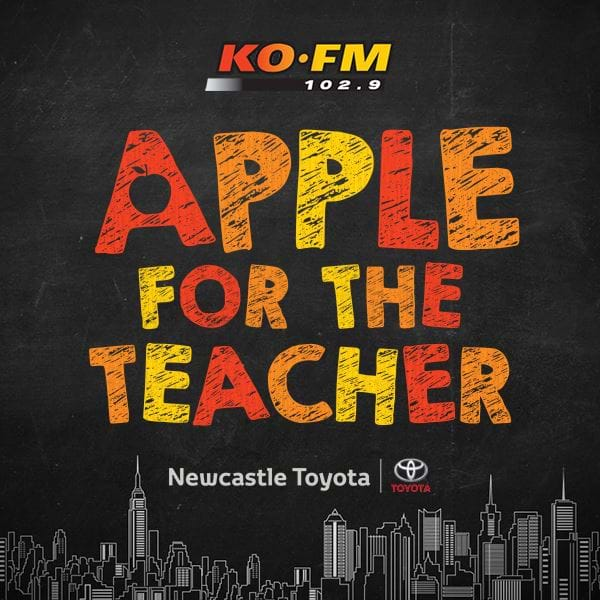 KOFM's Apple For The Teacher