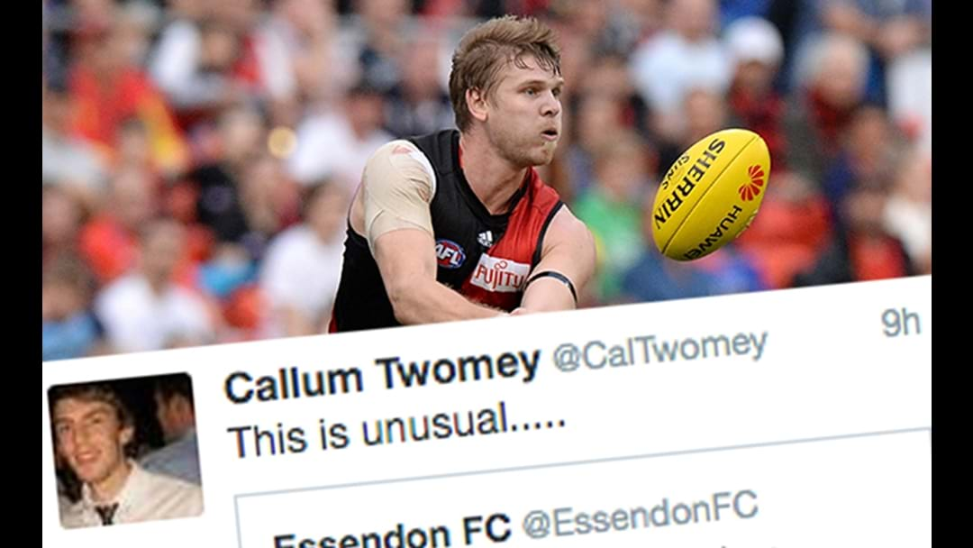 Essendon Release Bizarre Michael Hurley Statement Overnight