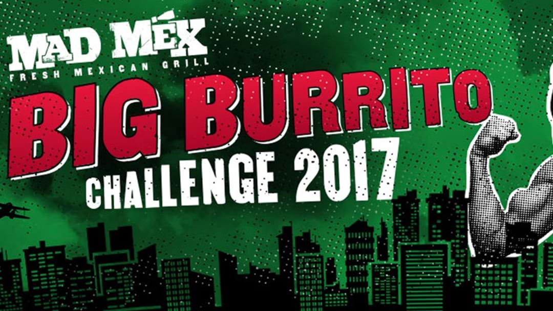 The 1KG Burrito Challenge... It's Back!