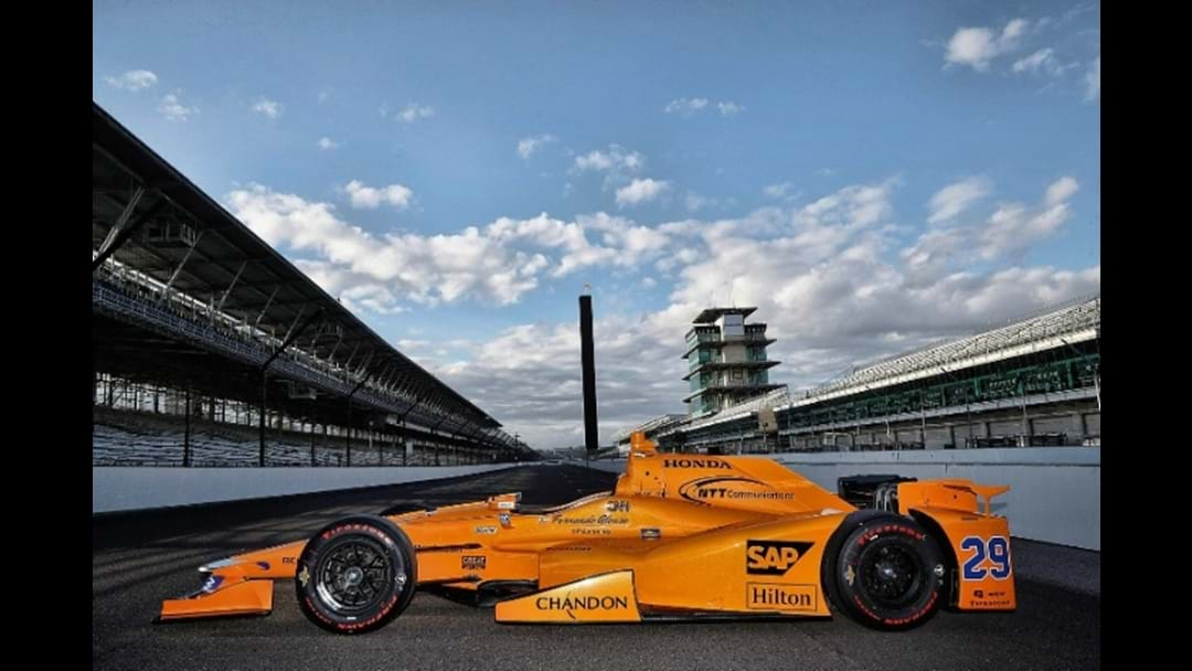 Formula 1 Champ Passes First Indy Driving Test
