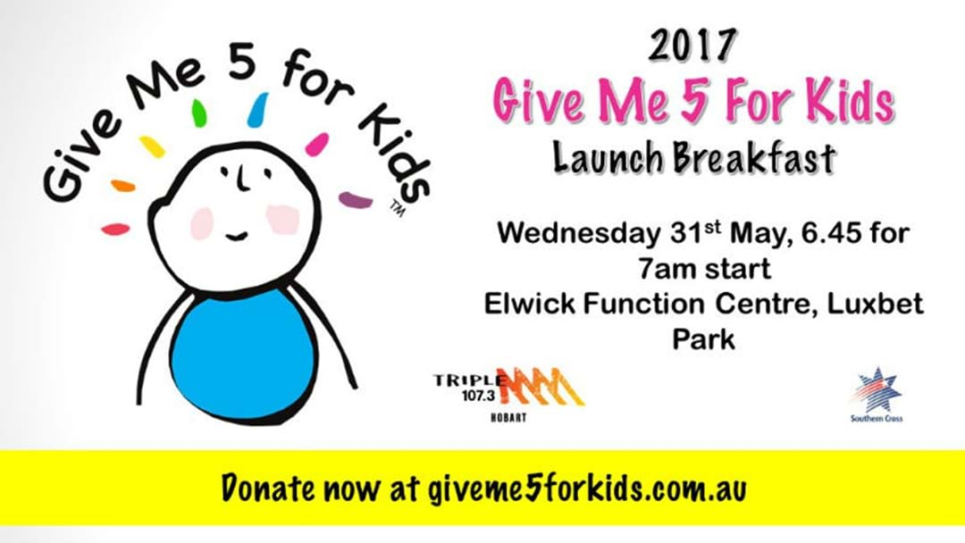 Join Triple M for the official Launch of GM5FK 2017