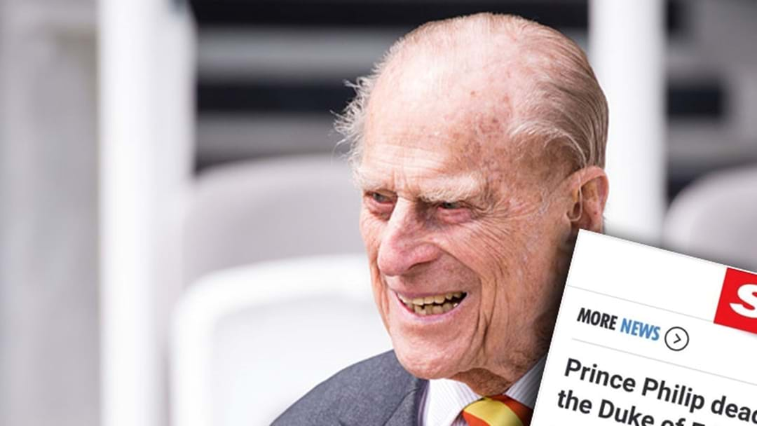 A UK Newspaper Accidentally Reported That Prince Philip Had Died