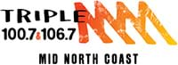 Triple M Mid North Coast 90.3 (Camden Haven),100.7 & 106.7MHz