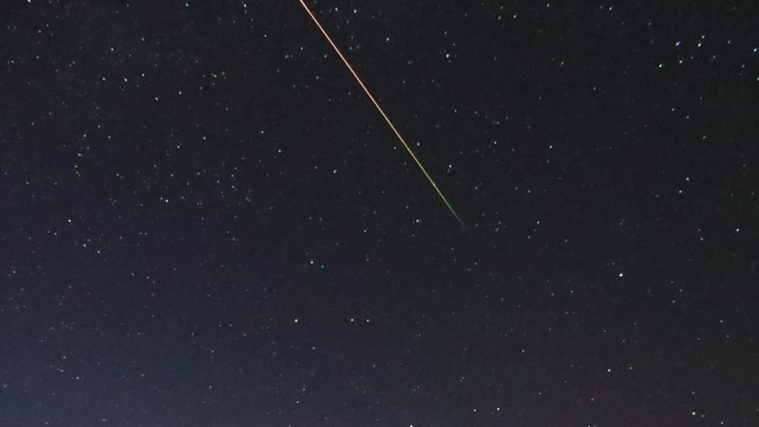Eyes Alive Perth... There's A Rad Meteor Shower On Tonight