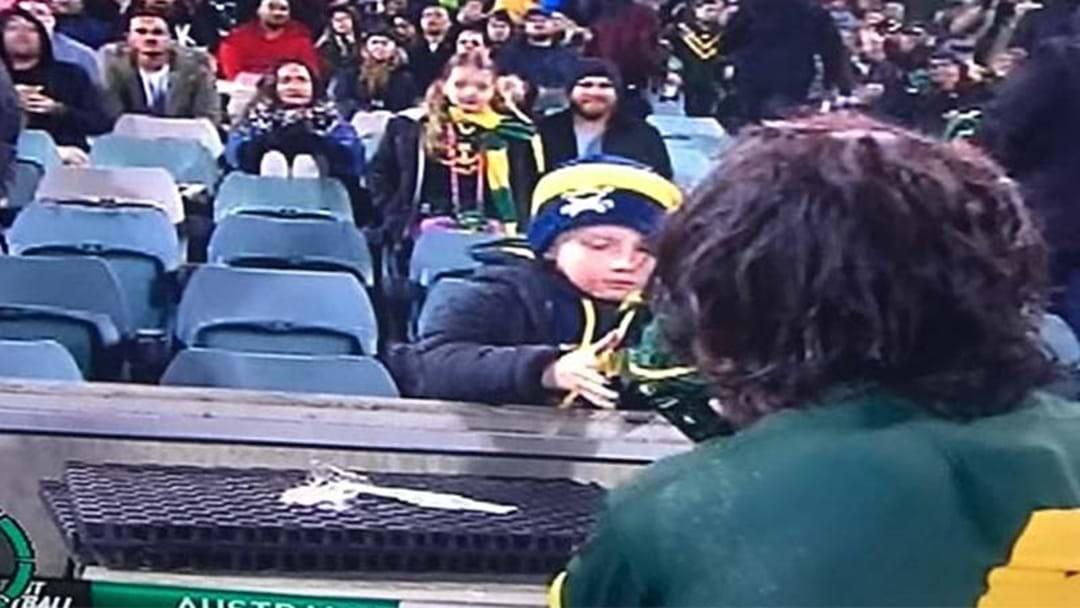 Further Proof That Johnathan Thurston Is A Bloody Legend