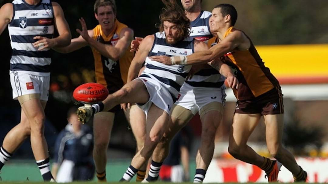Second Half Of Geelong v Box Hill VFL Game Delayed In Bizarre Circumstances