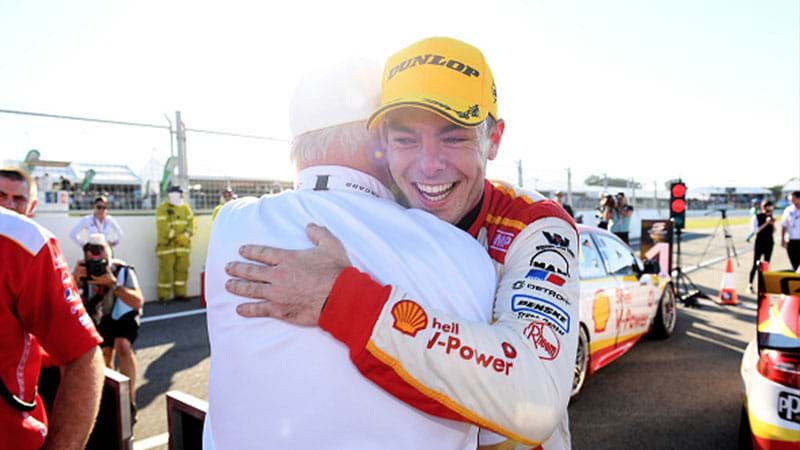 Article heading image for Scott McLaughlin Leads Shell Ford Domination In Race 7 At Perth