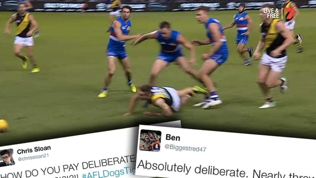 Fans React To Contentious Deliberate Call