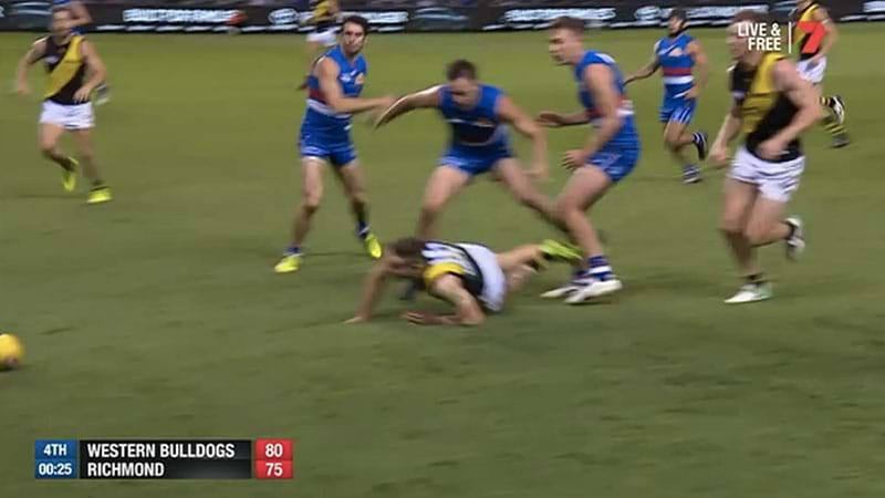 Article heading image for Is It Time For A Last Touch Free Kick To Replace Deliberate Out Of Bounds In The AFL?