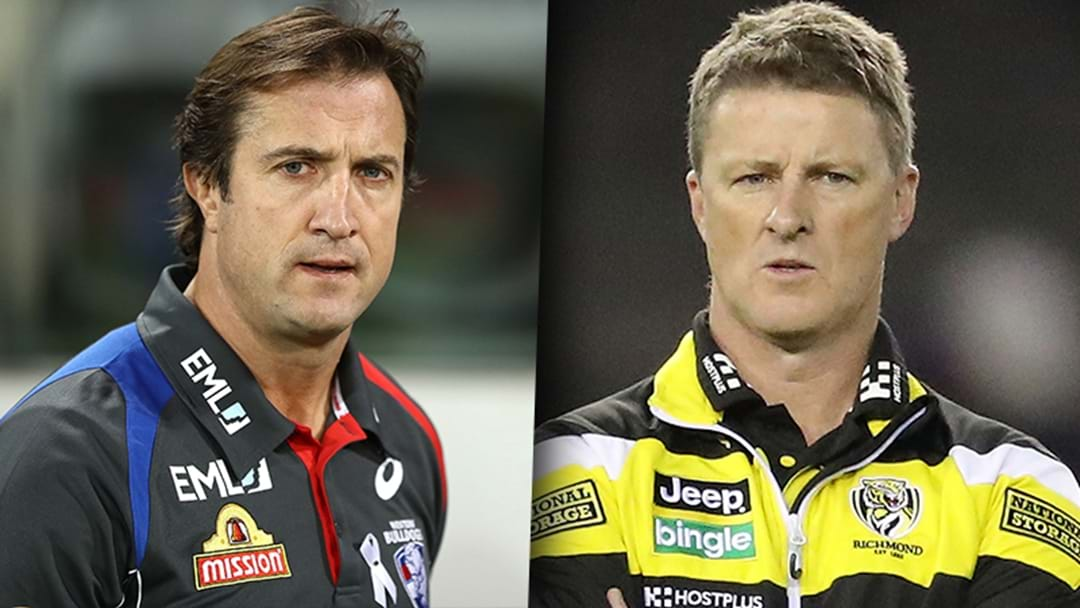Luke Beveridge And Damien Hardwick Reveal Their Confusion