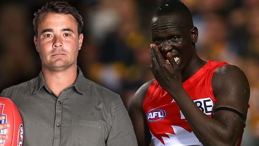 Jay Clark On The Story Behind Aliir Aliir's Removal From Sydney's Side