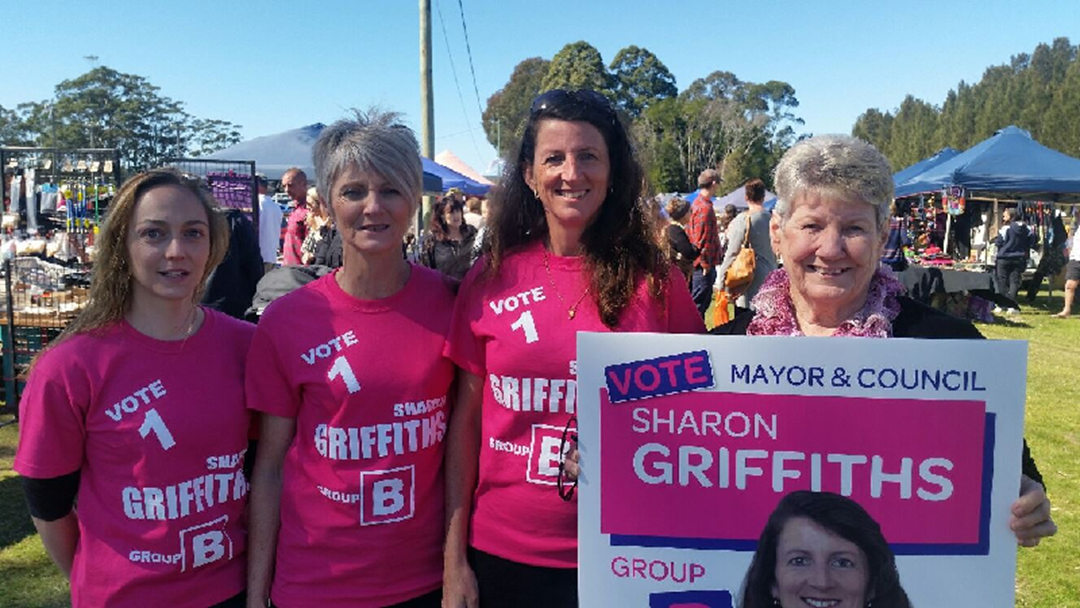 Cr Sharon Griffiths to run for Mayor