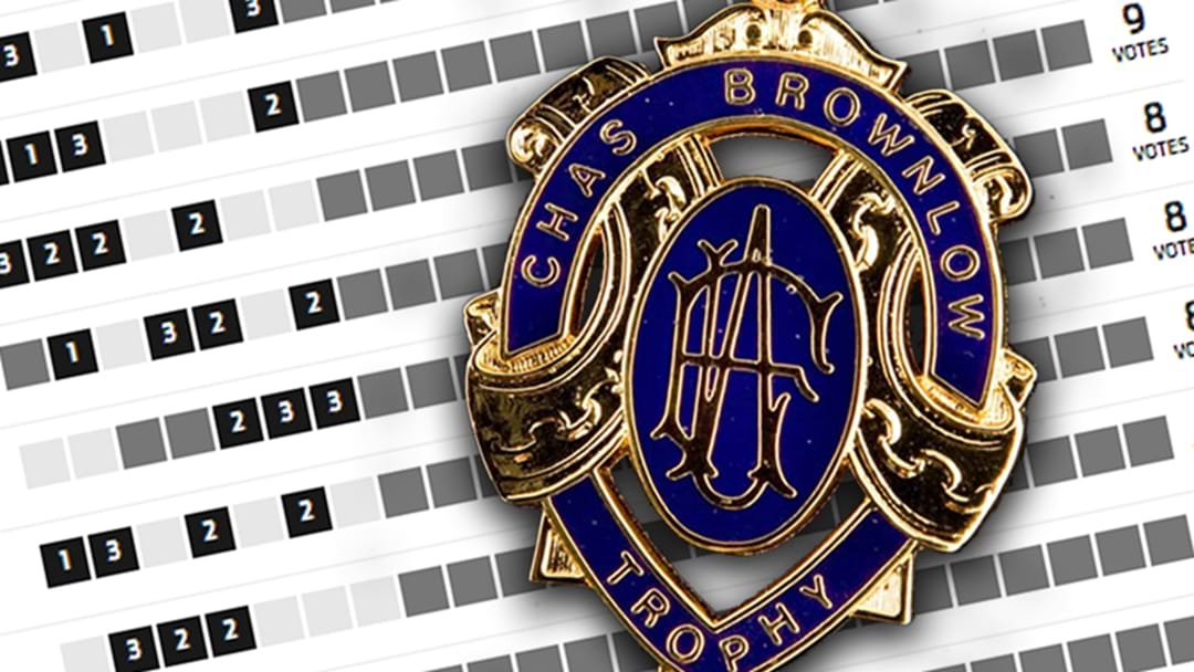 The AFL's Brownlow Predictor Is Up And Firing
