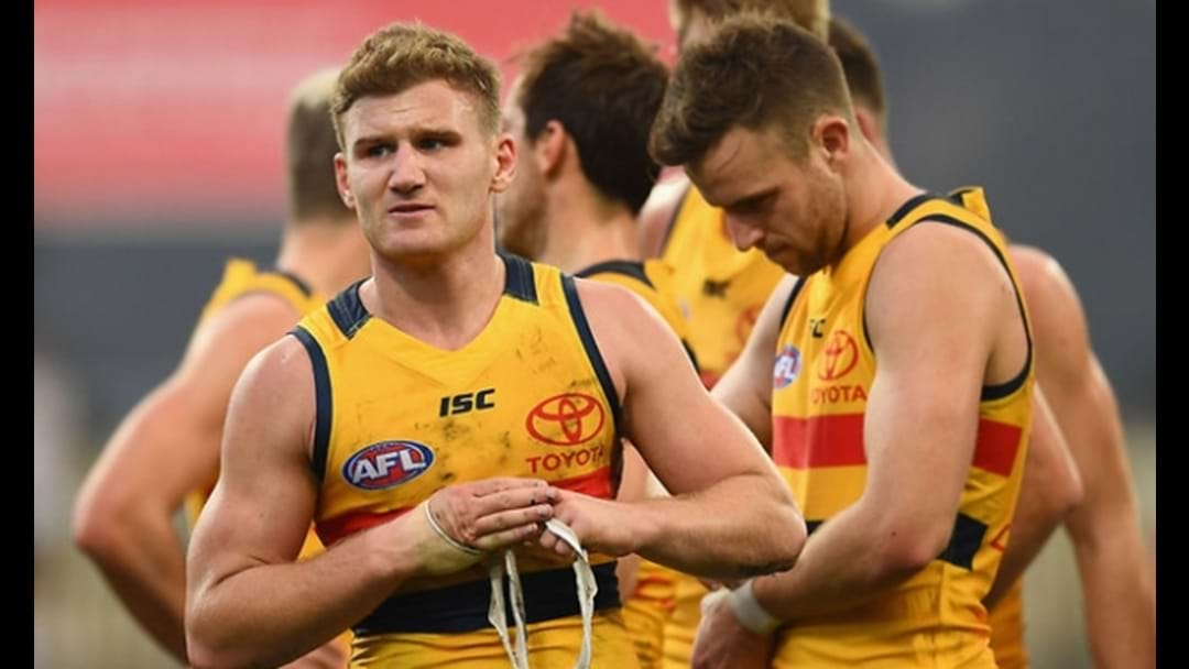 Jars Absolutely Grills Tex On The Adelaide Crows Away Strip