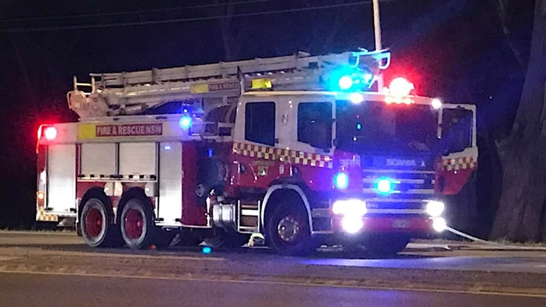 Car Fire on Highway in Coffs Harbour