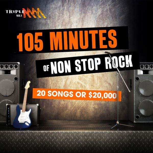 105 Mins of Non Stop Rock