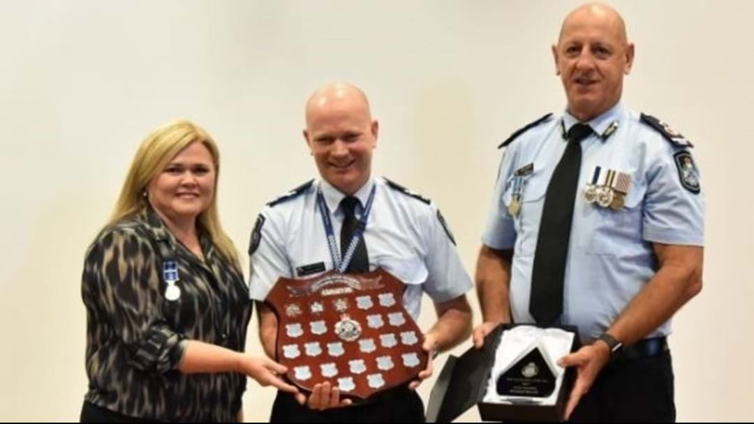 A Townsville Cop Received Prestigious Award