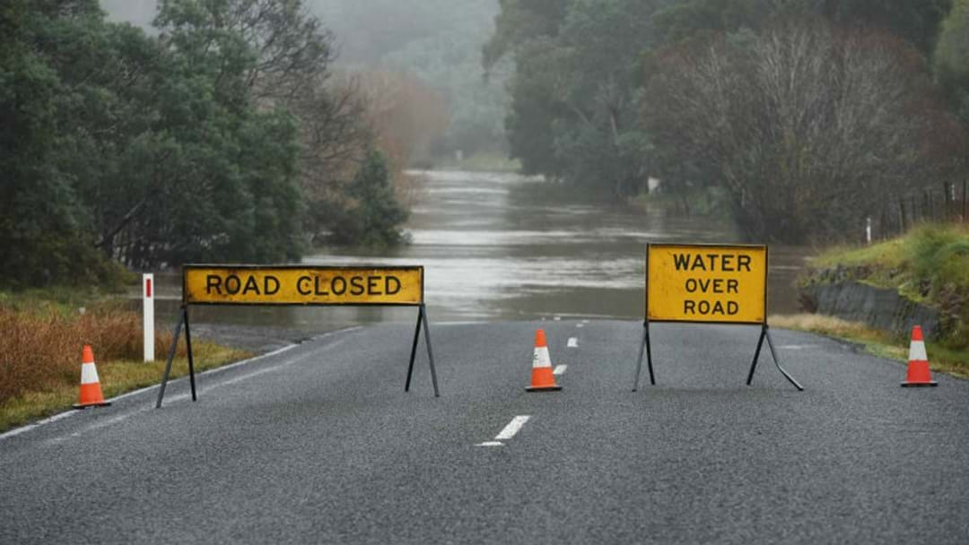 Caution On Roads Following Big Rains