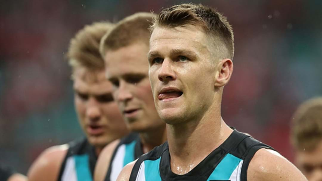 Port Adelaide Assistant Addresses Robbie Gray's Fitness