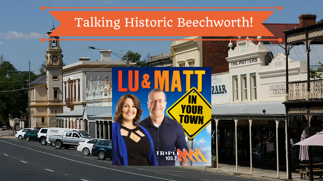 Keith Talks Historic Beechworth