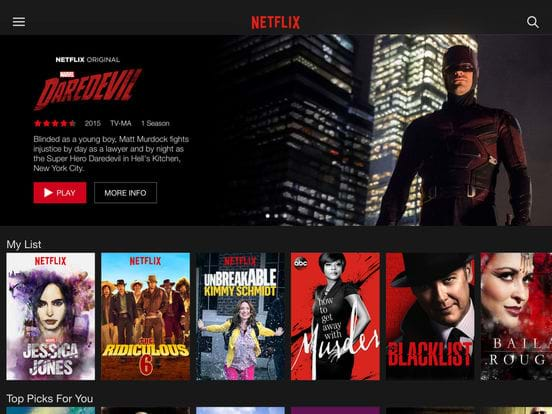 Netflix trials higher price when signing up at the weekend
