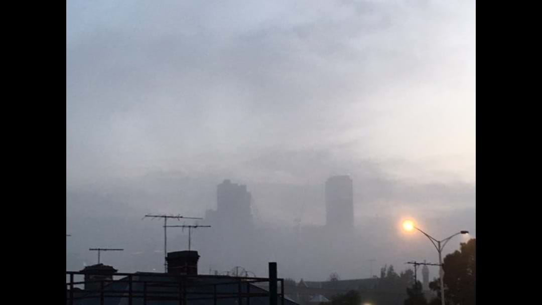 Melbourne's Monday Morning Looked Like THIS: