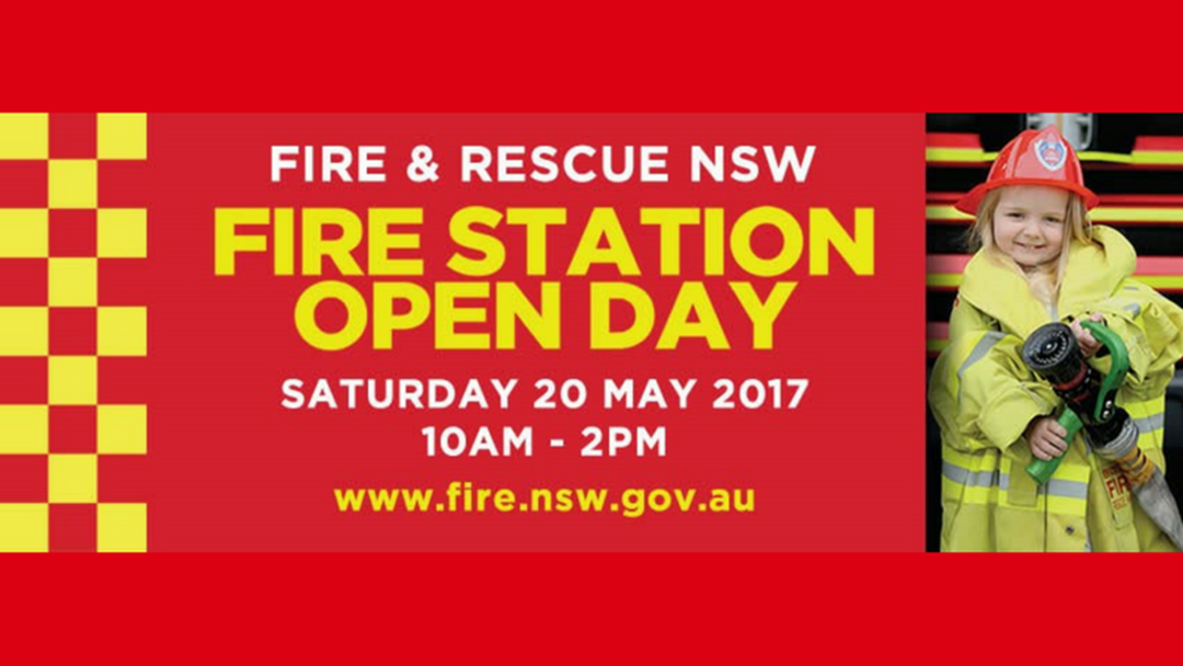 The Annual 'NSW Fire & Rescue' Open Day - Saturday 20th May 2017