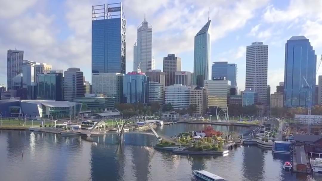 Perth From A Drone's Eye Is Pretty Spectacular