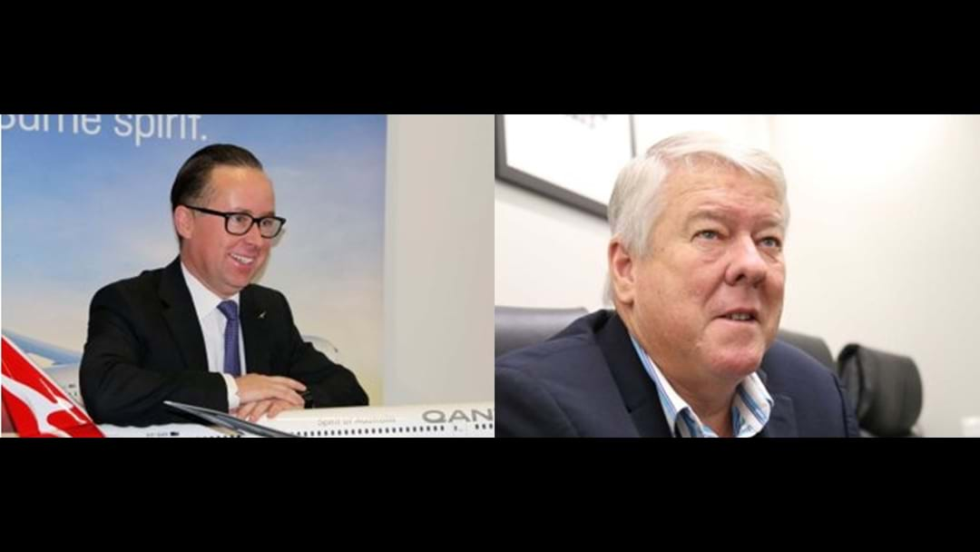 QANTAS CEO Backs Local Businessman