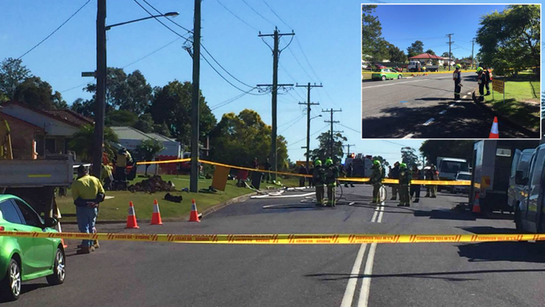 Major Gas Leak In East Maitland