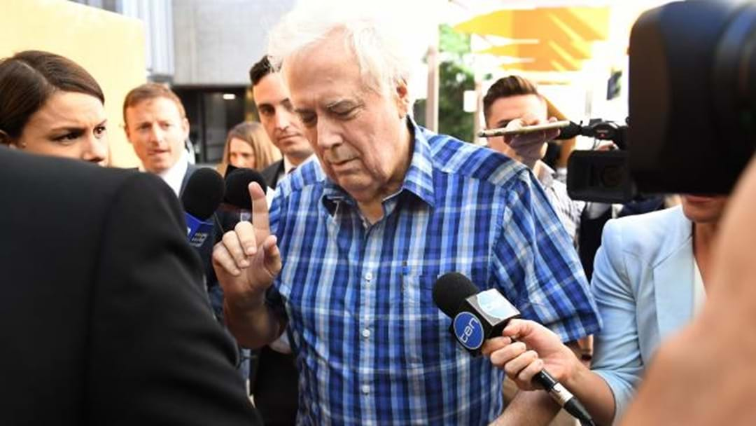 Clive Palmer Compares Court Treatment To 'Nazi Germany'