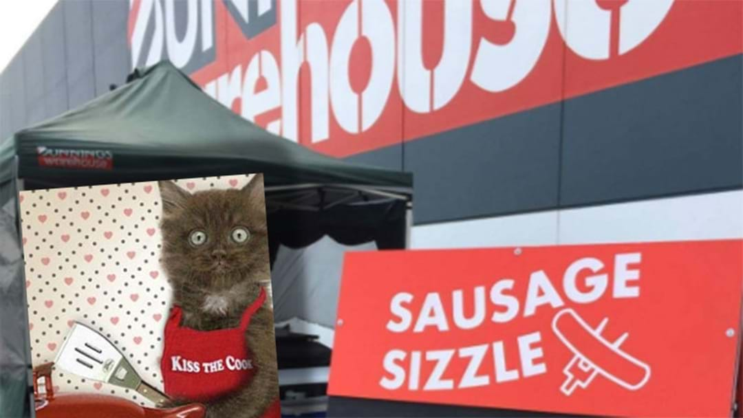 Melbourne Residents Blowing Up Over Bunnings Sausage Sizzle Controversy