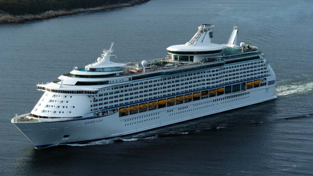 Cruise Ship To Visit Newcastle - Huge cruise ship